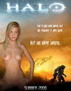 Amy Smart Halo Movie Cover Naked 001