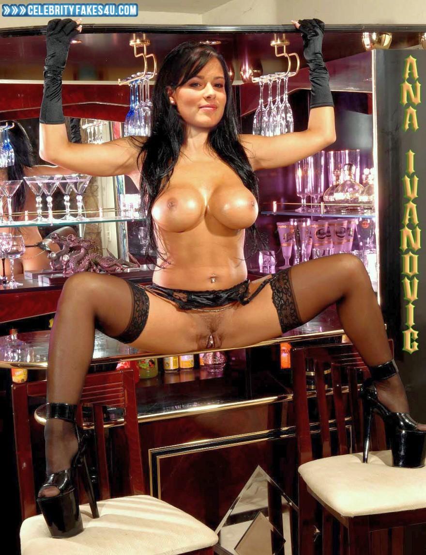 Ana Ivanovic Nude Pics ana ivanovic boobs vagina legs spread xxx fake 001