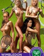 Ana Ivanovic Lesbian Nude Body Fake 001