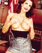 Andie MacDowell Loves Rubbing Her Big Tits Fake