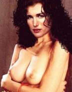 Andie MacDowell Nude Perky Tits Fake