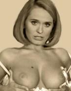 Andreea Esca Squeezing Tits Fake 001