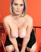 Andreea Esca Squeezing Tits Fake 002