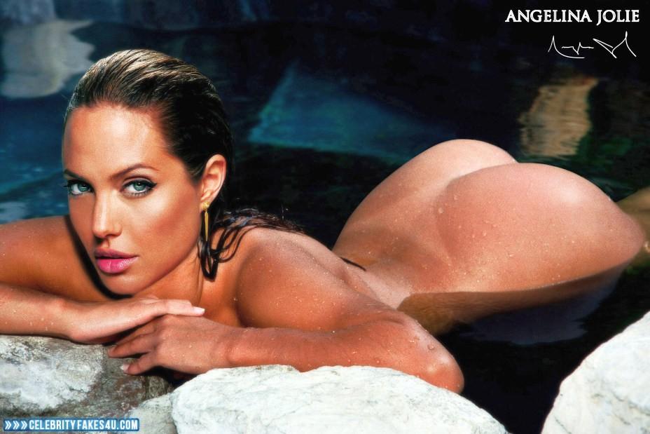 Angelina Jolie Fake, Ass, Horny, Nude, Porn