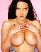 Angelina Jolie Big Breasts Boobs Squeezed Nsfw 001
