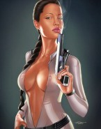 Angelina Jolie Cartoon Tomb Raider Naked 001