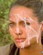 Angelina Jolie Huge Cumload Facial Cumshot Nudes 001