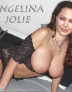 Angelina Jolie Lingerie Big Tits 001
