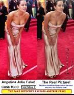 Angelina Jolie Nipple Slip Public 001