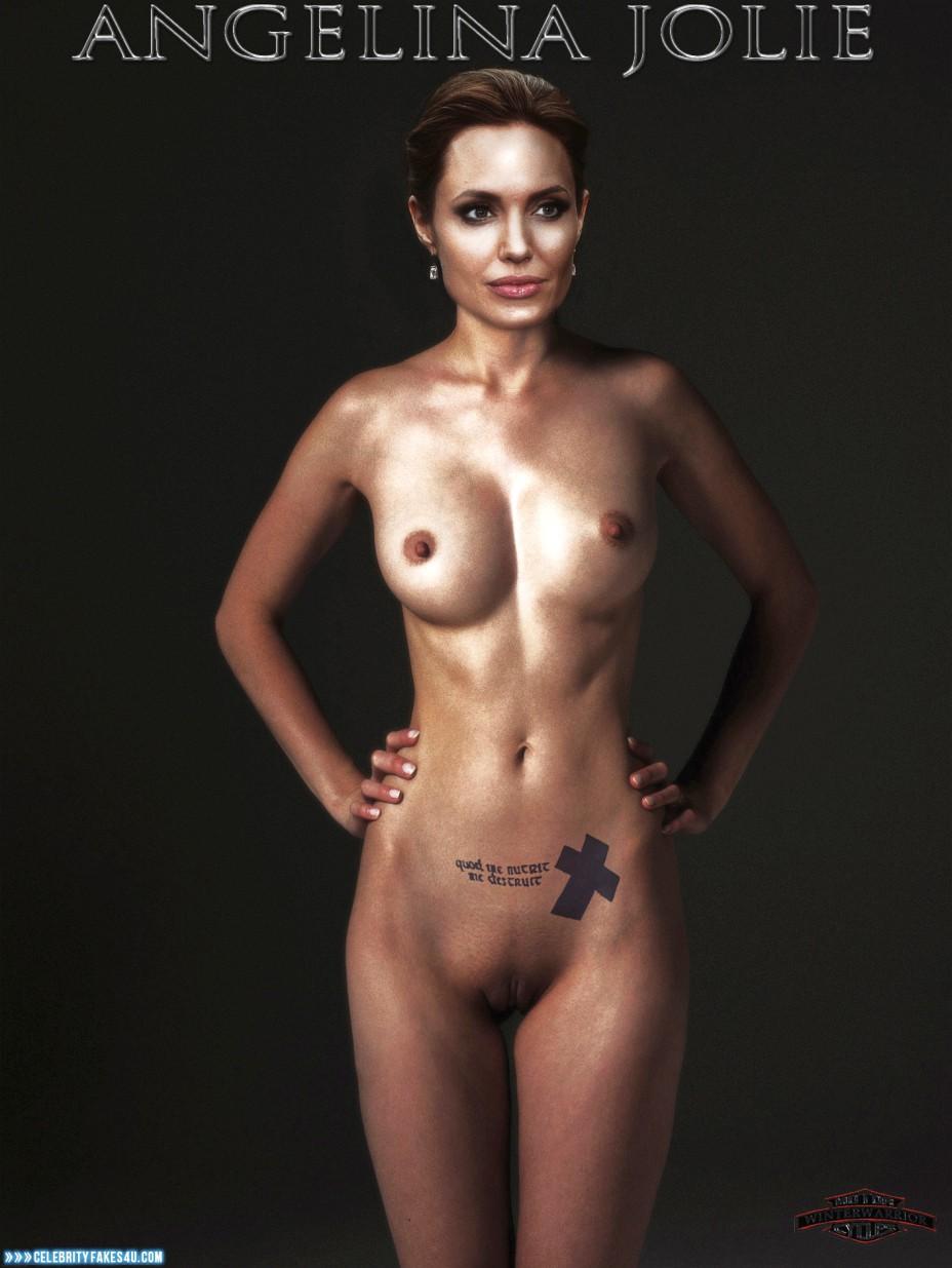 Angelina Jolie Nude Naked angelina jolie nude body porn 003 « celebrity fakes 4u