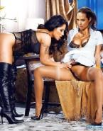 Angelina Jolie Panties Aside Lesbian 001