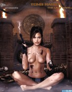 Angelina Jolie Perfect Tits Tomb Raider Naked 001