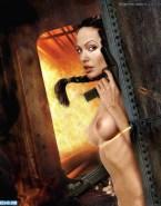 Angelina Jolie Tits Tomb Raider Naked 002