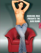 Angelina Jolie Topless Naked 001