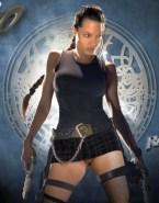 Angelina Jolie Upskirt Pussy No Panties 001
