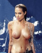 Angelina Jolie Wet Boobs Porn 003