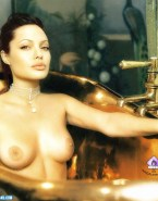 Angelina Jolie Wet Breasts 001