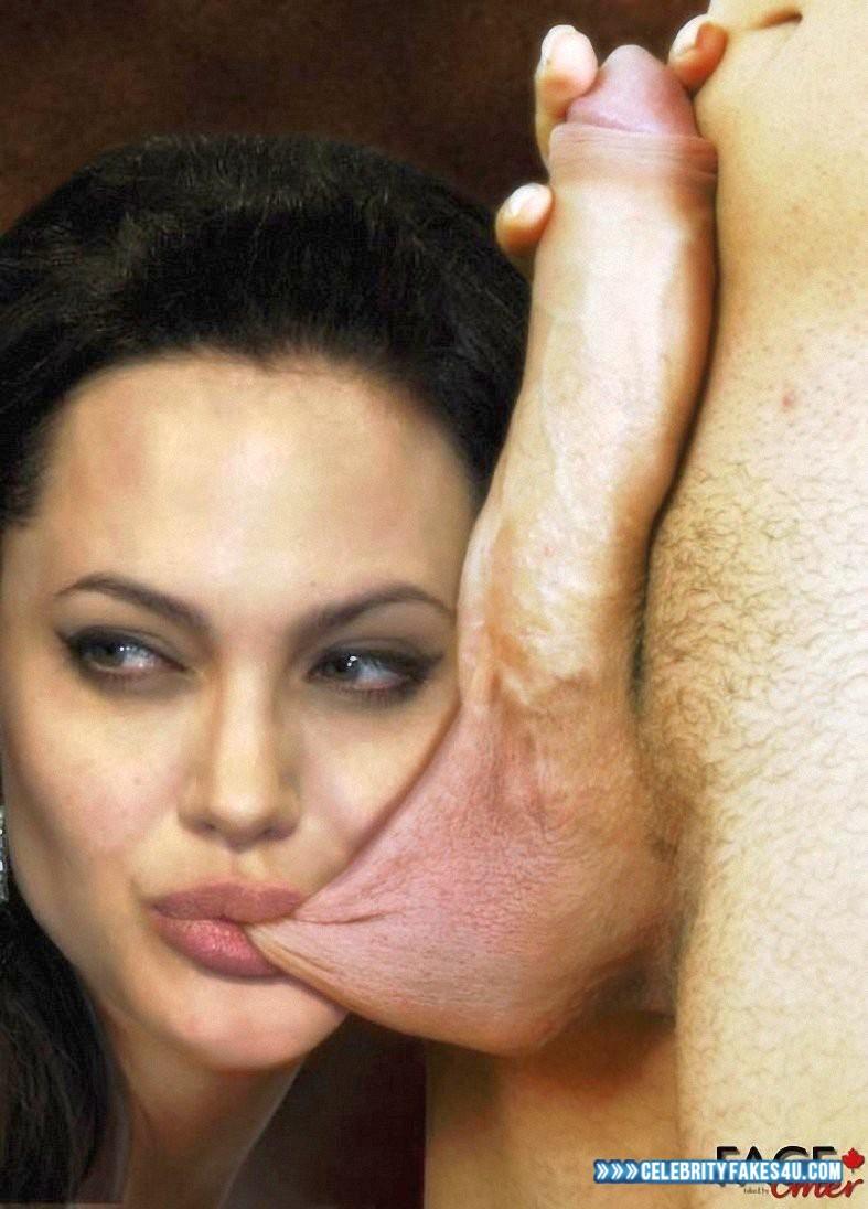 Angelina jolie blowjob video