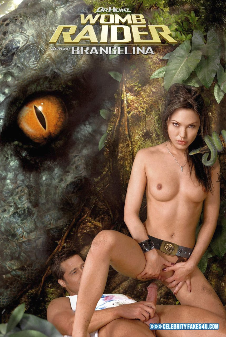 Angelina Jolie Fake, Horny, Nude, Series, Sex, Tits, Tomb Raider, Porn