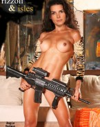Angie Harmon Breasts Fake 001