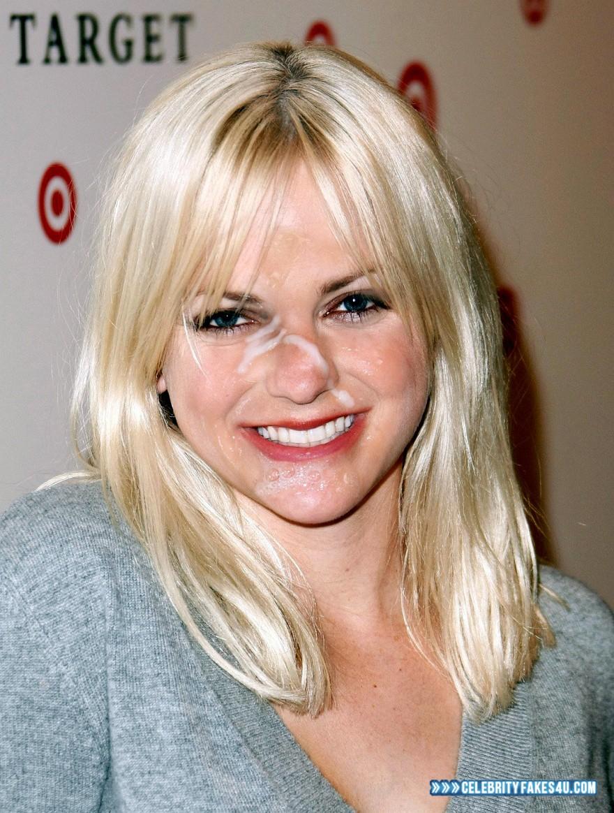 Anna Faris Blonde Cum Facial Fake 001 « Celebrity Fakes 4U
