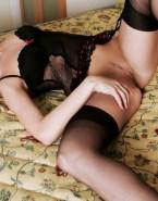 Anna Friel Lingerie Legs Spread 001