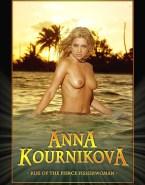 Anna Kournikova Wet Hot Tits 001