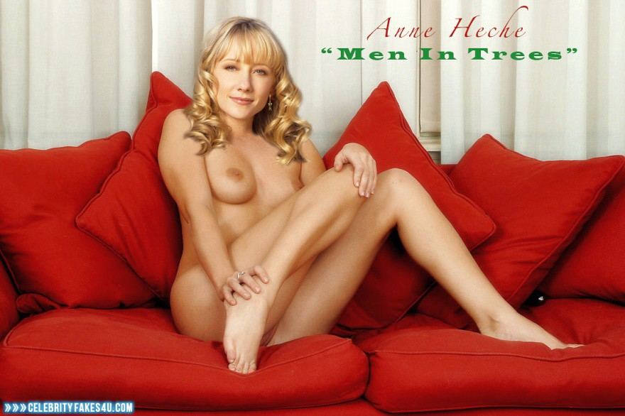 Anne Heche Fake, Blonde, Nude, Tits, Porn