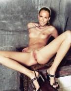 Annemarie Warnkross Small Boobs Completely Naked Body 001