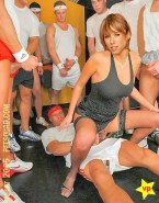 Annemarie Warnkross Gangbang Reverse Cowgirl Sex 001
