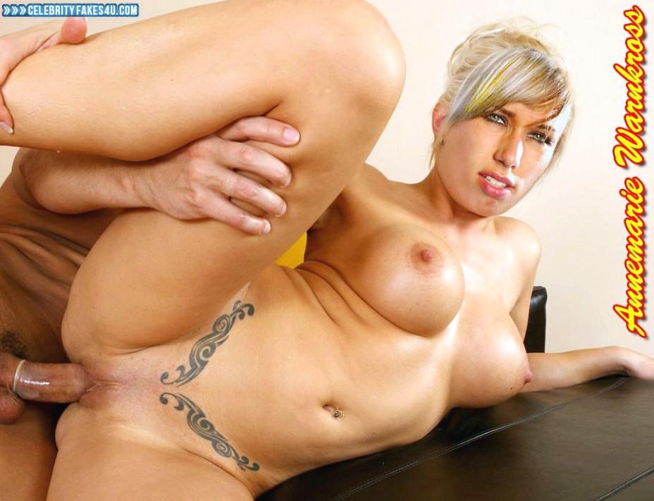 Annemarie Warnkross Fake, Blonde, Legs Spread, Sex, Tight Pussy, Tits, Porn