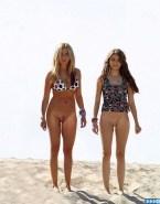 Ashley Tisdale Pantiless Beach Nsfw 001
