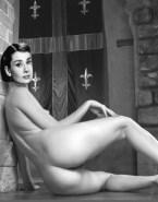 Audrey Hepburn Ass Legs Naked Fake 001