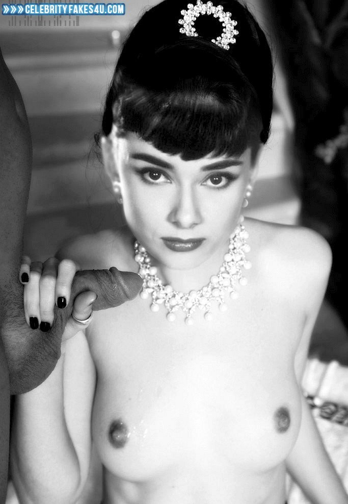 Audrey Hepburn Handjob Breasts Naked Sex Fake 001 -3585