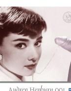 Audrey Hepburn Handjob Cumshot Facial Sex Fake 001