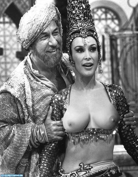Barbara Eden Fake, Flashing Tits, Tits, Very Nice Tits, Porn