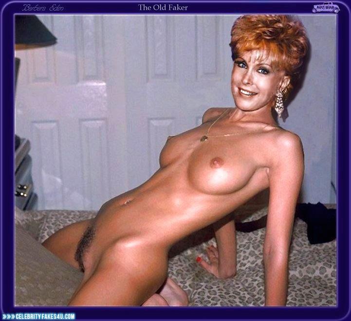Barbara Eden Fake, Homemade, Masturbating, Naked Body, Nude, Pussy, Tits, Very Nice Tits, Porn