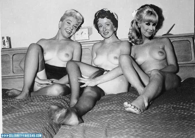 Barbara Eden Fake, Homemade, Nude, Outdoor, Stockings, Tits, Porn