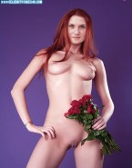 Bonnie Wright Boobs Red Haired Nude Fake 001