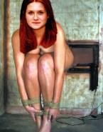 Bonnie Wright Boobs Squeezed Bondage Porn Fake 001