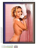 Britney Spears Nude Bath 001