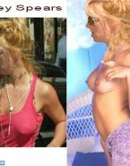 Britney Spears Pokies Public Nude 001