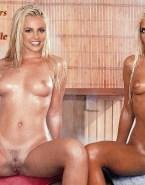 Britney Spears Wet Vagina Legs Spread Naked 001
