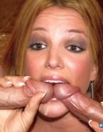 Britney Spears Swallows Cum Blowjob Sex 001