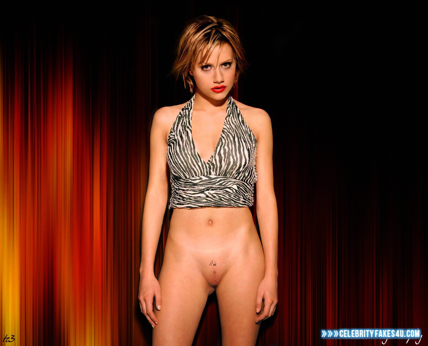 nude fake brittany murphy