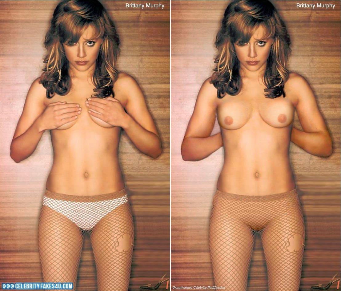 Brittany murphy panties #1