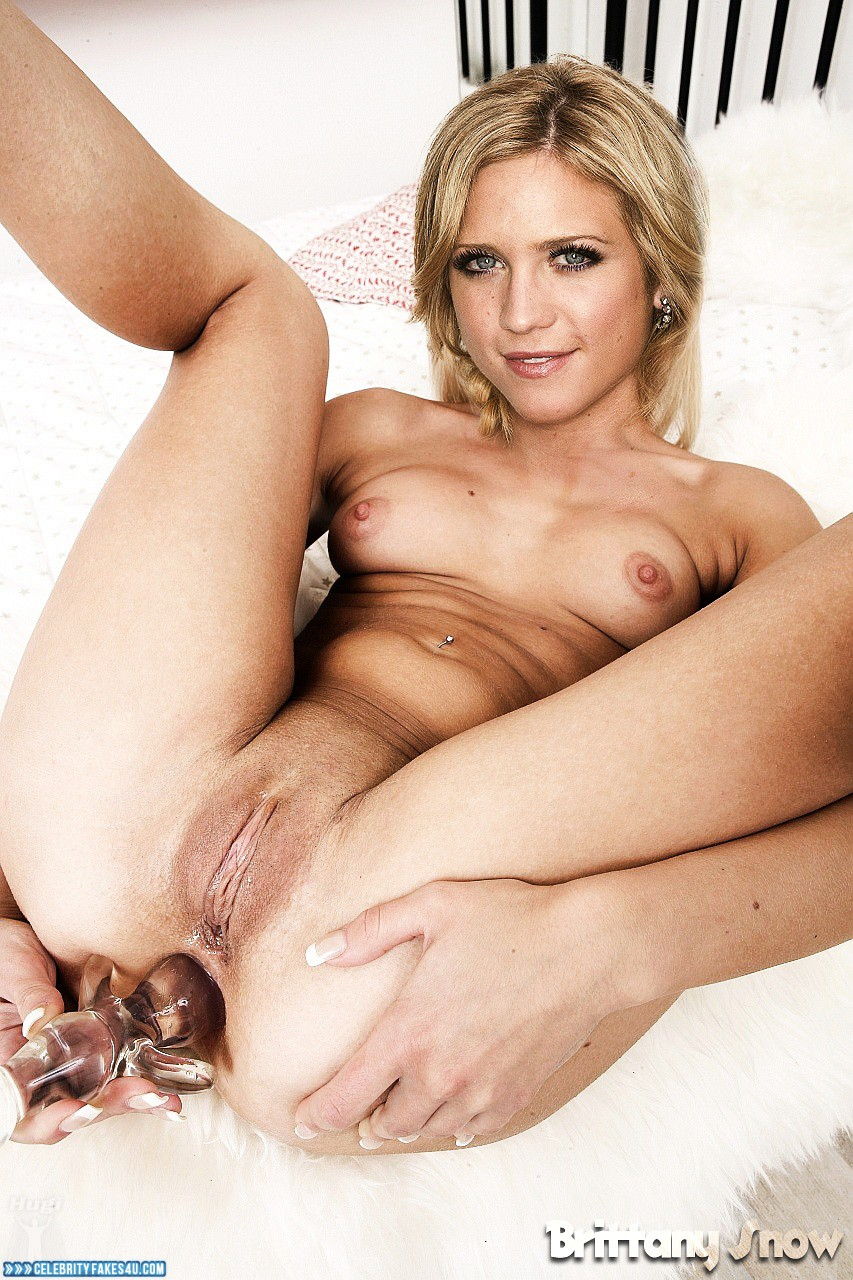 Brittany snow fake cum