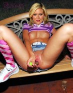 Brittany Snow Juicy Pussy Public Nsfw Fake 001