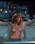 Bryce Dallas Howard Tits Jurassic Park Naked Fake 001