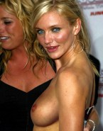 Cameron Diaz Breasts Public Naked 001